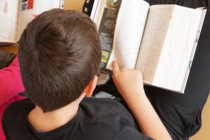 Étrépagny – Distribution de dictionnaires