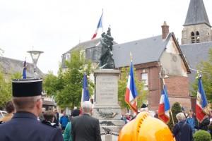 Étrépagny – Cérémonie 8 mai 1945