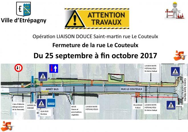 travaux rue Lecouteulx