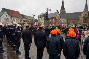 Étrépagny – Cérémonie du 11 Novembre