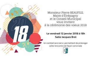 Étrépagny – Cérémonie des voeux 2018