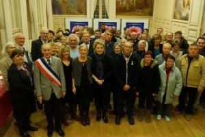 Étrépagny – Cérémonie des voeux au personnel – 2018