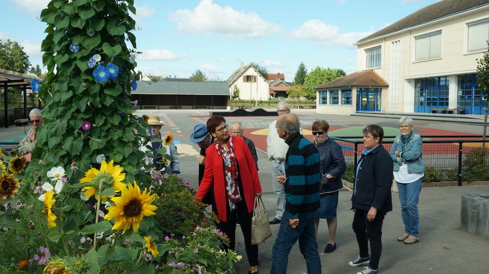 7 septembre 2018 - visite a etrepagny mme la sous prefete -3