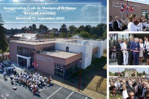 Étrépagny – Inauguration Ecole de Musique et de Danse