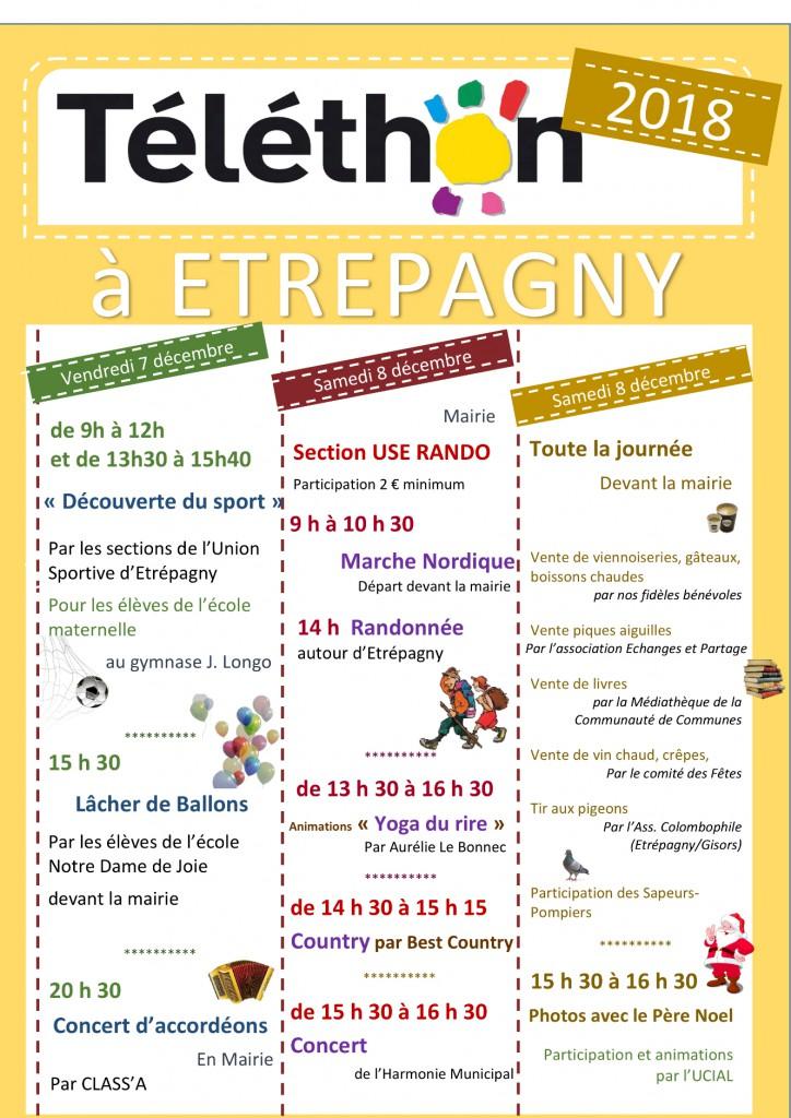 telethon_etrepagny_ 7-8 decembre 2018