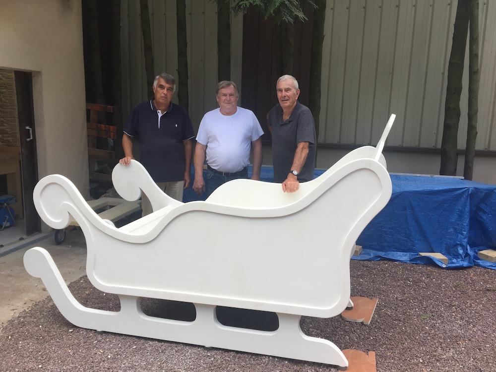 fabrication traineau pere norel etrepagny 2018 - 6
