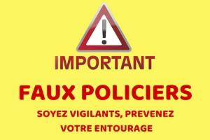 Étrépagny – Faux policiers