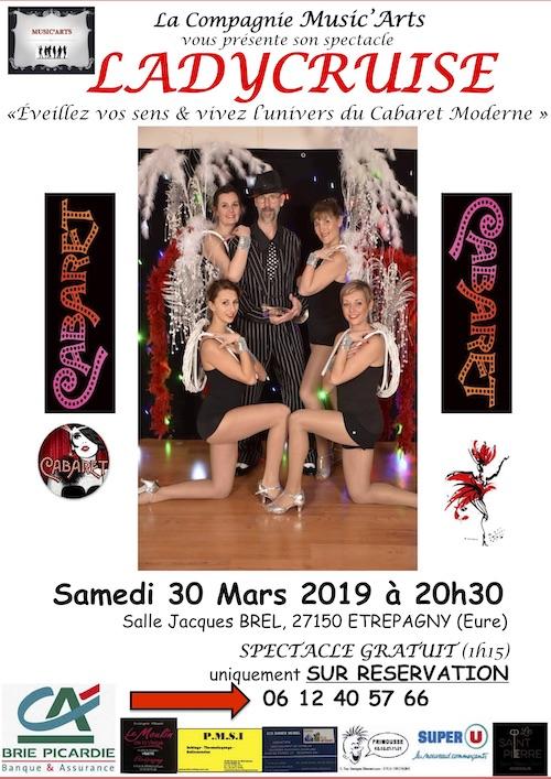 LADYCRUISE-ETREPAGNY-30 mars 2019_spectacle