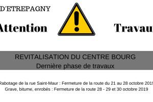 Travaux rues Saint-maur -Clémenceau – Déviation de Avril à Octobre 2019 – Plans de phasage