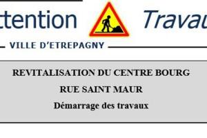 Etrépagny – Travaux – réunion publique