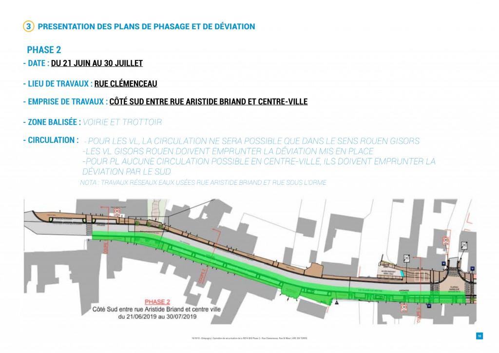 2-travaux rue clemenceau phase 2 etrepagny_21 juin au 30 juillet