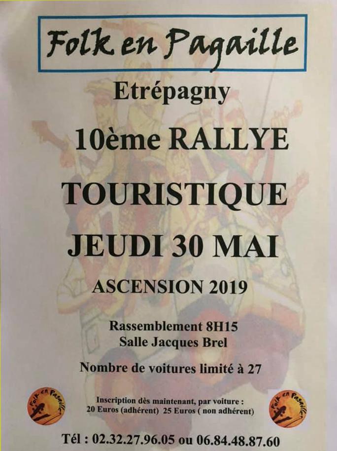 etrepagny_rallye touristique  jeudi ascension 2019