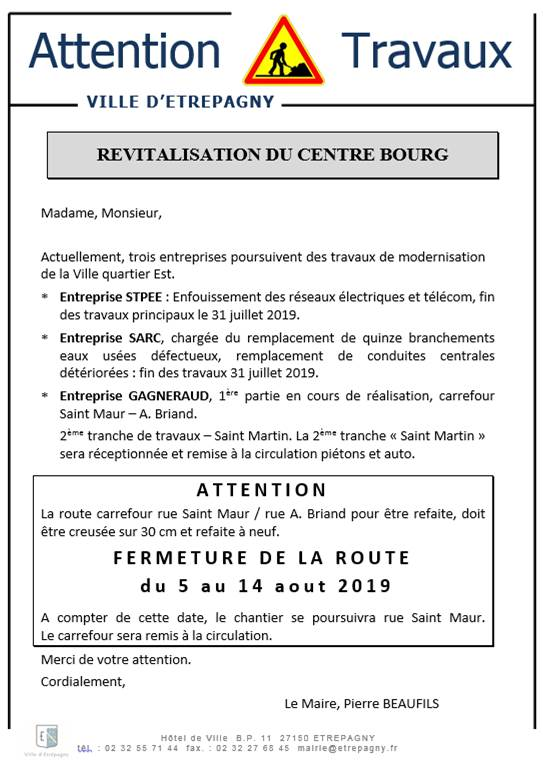 revitalisation centre bourg