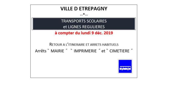 Étrépagny – Modification arrêts de bus – Travaux RD14bis