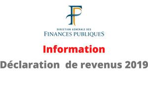 Étrépagny – Information déclaration des revenus 2019