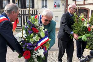 Étrépagny – Hommage aux victimes du 8 mai  1945