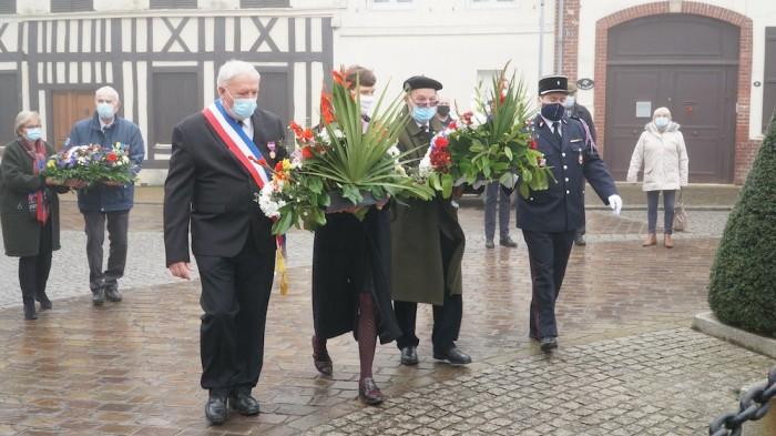 Étrépagny – Cérémonie commémorative du 11 novembre