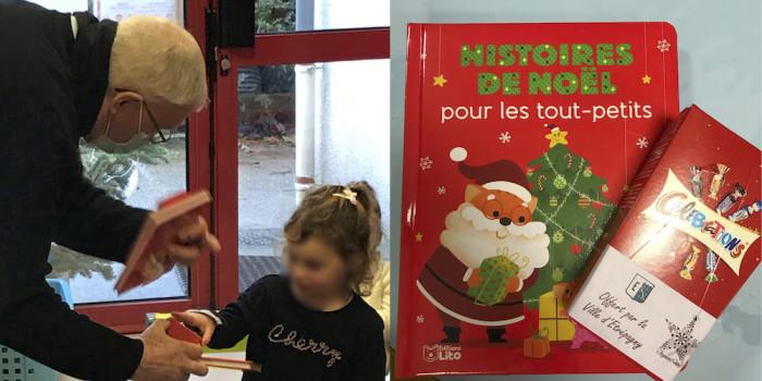 Étrépagny – Distribution de livres et de chocolats